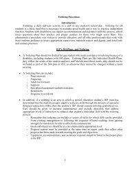 Toileting Procedures - Seattle Public Schools