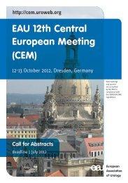 EAU 12th Central European Meeting (CEM)