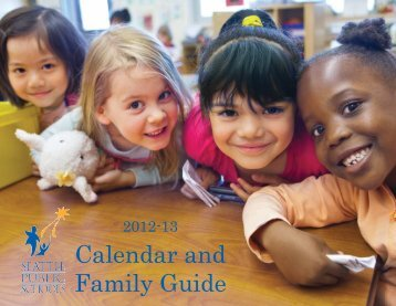 2012-13 Wall Calendar and Family Guide - Seattle Public Schools