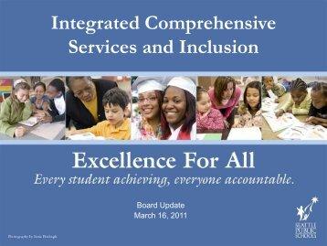ICS Presentation - Seattle Public Schools