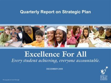 December 2009 Excellence for All Board Briefing - Seattle Public ...