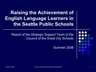 Raising the Achievement of English Language Learners in the ...