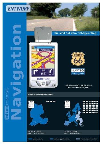 Navigation - Bluemedia