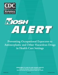 Preventing Occupational Exposures to Antineoplastic and Other ...