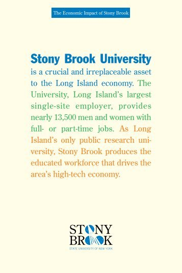 Is A Crucial And Irreplaceable - Stony Brook University