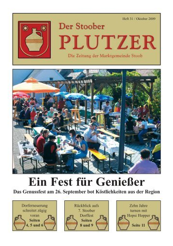 Ausgabe 2009/03 - Marktgemeinde Stoob