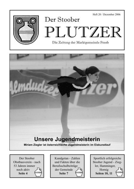 Ausgabe 2006/04 - Marktgemeinde Stoob