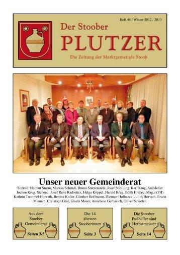 Unser neuer Gemeinderat - Marktgemeinde Stoob