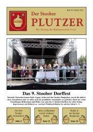 Das 9. Stoober Dorffest - Marktgemeinde Stoob