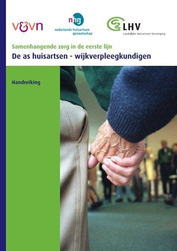 Handreiking Samenwerking huisarts en wijkverpleegkundigen