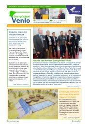 Blue Logistics - Venlose bedrijven besparen energie