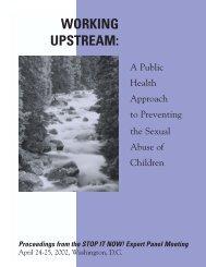 Working Upstream-Final - Stop It Now