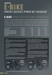 E-Bikes der Kalkhoff - Elektrorad Bodensee