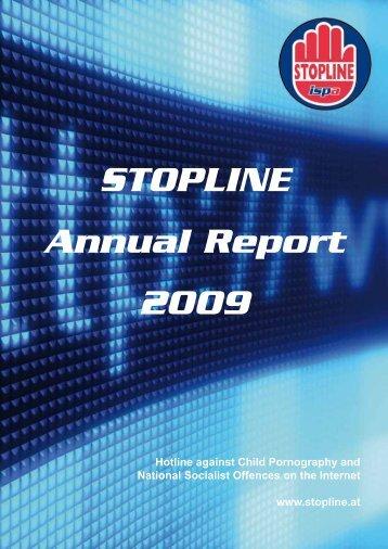 STOPLINE Annual Report 2009