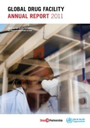 Global Drug Facility Annual Report 2011 [.pdf] - Stop TB Partnership