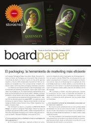 El packaging: la herramienta de marketing más eficiente - Stora Enso