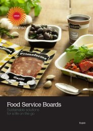 Food Service Boards - Stora Enso