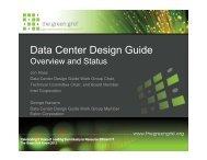 Data Center Design Guide - The Green Grid