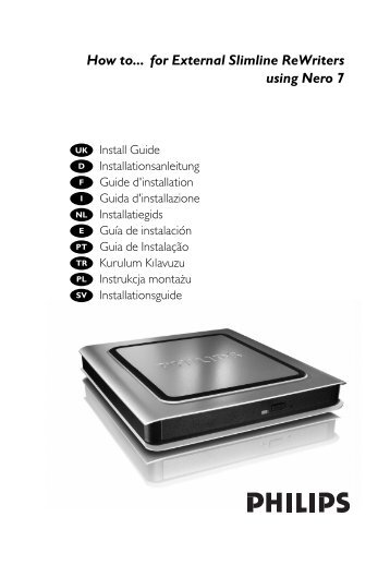 Manual de uso - Philips StorageUpdates