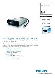 Información del producto - Philips StorageUpdates