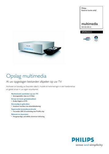 Product informatie - Philips StorageUpdates