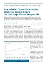 Fortbildung-05/2012-Prostatakrebs - Gebr. Storck Verlag