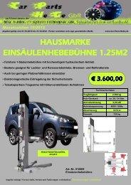 Monatsaktion 10/2012 - Car Parts HeGe GbR