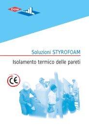 Soluzioni STYROFOAM: Isolamento termico delle pareti - Storemat