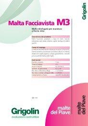 Malta Facciavista M3 - Storemat