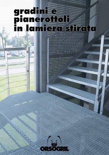 gradini e pianerottoli in lamiera stirata - Storemat