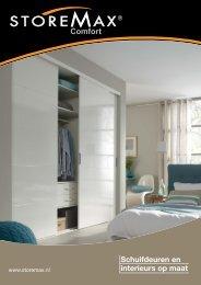 Schuifdeuren en interieurs op maat - StoreMax