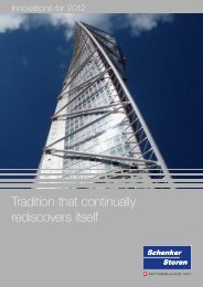 Tradition that continually rediscovers itself - Schenker Storen AG