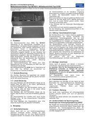 Handbuch GE102 mit G120 - Schenker Storen AG