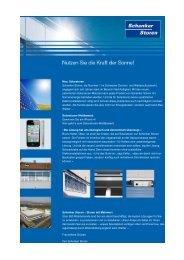 Newsletter 1 - Schenker Storen AG