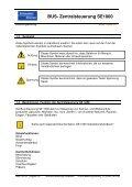 Bedienungsanleitung SE 1000 - Schenker Storen AG - Page 3