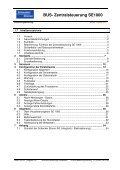 Bedienungsanleitung SE 1000 - Schenker Storen AG - Page 6