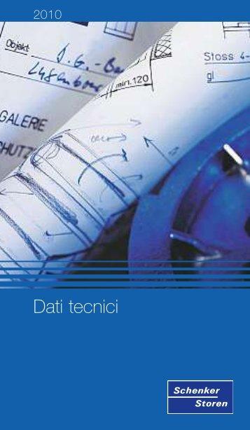 Dati tecnici - Schenker Storen AG
