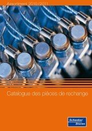 Catalogue des pièces de rechange - Schenker Storen AG