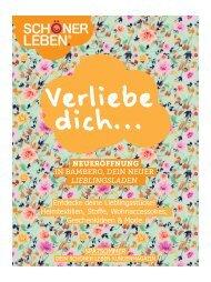 Schöner Leben Kundenmagazin Spätsommer 2014