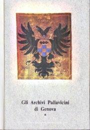 Gli Archivi Pallavicini di Genova - Società Ligure di Storia Patria