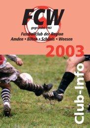 günstiges Tagesmenü! • Sonntag Ruhetag - FC Weesen