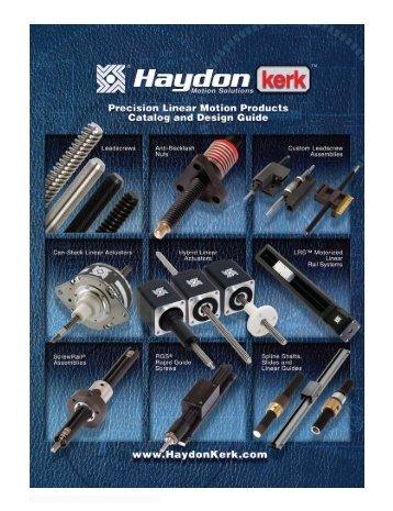 Can-Stack Rotary Stepper Motors - Haydon Kerk Motion Solutions