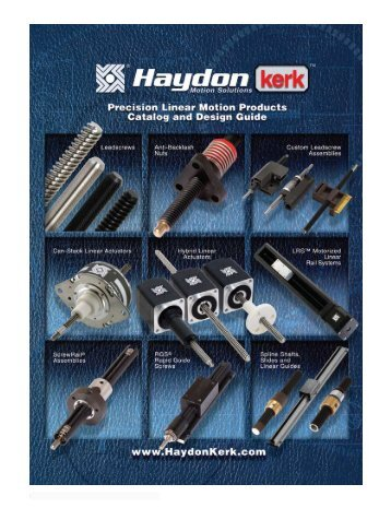 AC Synchronous Motors - Haydon Kerk Motion Solutions