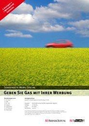 Geben Sie Gas mit Ihrer Werbung - Espace Multimedia