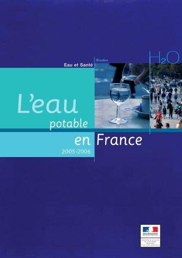 eau potable en France - Ministère des Affaires sociales et de la Santé