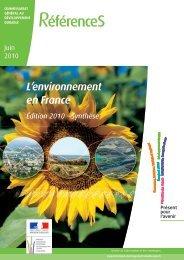 Synthèse - Ministère du Développement durable