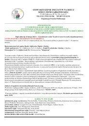 stowarzyszenie inicjatyw na rzecz dzieci ziemi ... - Republika WWW