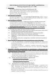 Specyfikacja Istotnych Warunków Zamówienia (pdf) - Republika WWW