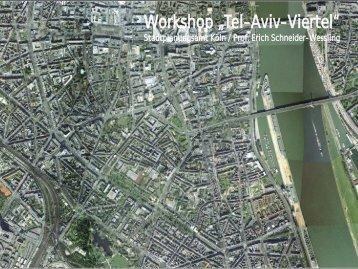 "Workshop ""Tel-Aviv-Viertel"" - Stottrop Stadtplanung"