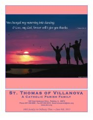 Jun 9, 2013 - St. Thomas of Villanova